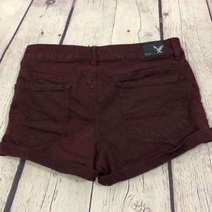 American Eagle Outfitters Shorts - American Eagle Hi Rise Shortie Shorts